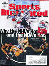 "Sports Illustrated 6/16/2014 ""When The NHL Is Hot And The NBA Is Hot"" Label"