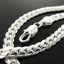 185 GENUINE REAL 925 STERLING SILVER S/F SOLID LADIES PENDANT NECKLACE CHAIN