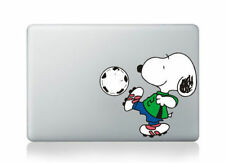 """Snoopy Soccer Apple Sticker Viny Decal for Macbook Air/Pro/Retina 13""""15""""17""""green"""