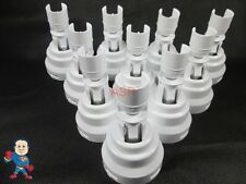 "Waterway Spa Poly Storm 10 Pack Jet Repair Diffuser 3 3/8"" - 4"" Video  Hot Tub"