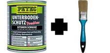 Protection antigravillon blackson bitume noir 1KG + pinceau pour ALFA ROMEO