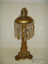 Nice Early 19th C. Bronze/Brass Cornelius & Co. Solar/Astral Gothic Lamp