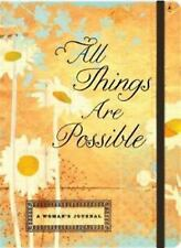 All Things Are Possible: Inspirational Message Blank Journals (Impulse Journals