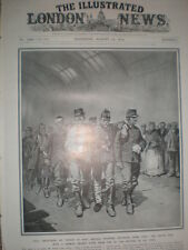 Belgium wounded Belgian soldiers return from Liege with trophies 1914 print