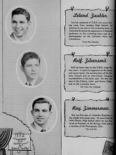 1948 New York City Columbia Prep School Yearbook~Photos~History~Basketball~++++