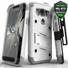 Samsung Galaxy S7 Active Case Zizo Bolt Galaxy 7 Screen Protector Holster white