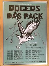 Rogers – il Pack 2016 Tour ORIG. CONCERT POSTER -- concerto MANIFESTO a1 XX