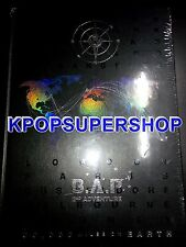 B.A.P 2nd Adventure: 30000 Miles on Earth 2 DVD Photobook New BAP Photocards