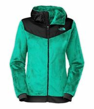 New New Womens The North Face Oso Hooded Coat Jacket Green XL