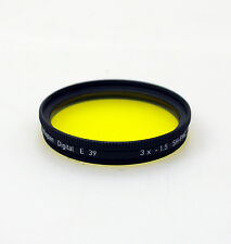 Heliopan 39mm SH-PMC Yellow 12 Filter. Brand New Stock