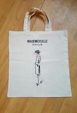 Chanel Tote Cotton Bag Karl Lagerfeld drawn