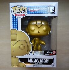Funko Pop! Megaman 102 Mega Man, Gold, Game Stop Exclusive Black Friday mystery