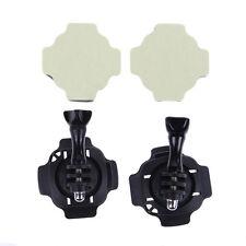 2 Sets 360° Rotating Swivel Helmet Surface Mount for GoPro Hero 1 2 3 3+ 4 New