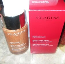 Clarins Splendours SHIMMER BODY OIL 3.3 fl oz~ New in box