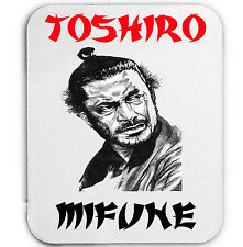 TOSHIRO MIFUNE JAPAN ACTOR LEGEND - MOUSE MAT/PAD AMAZING DESIGN