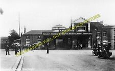 Eastleigh Railway Station Photo. Southampton to Winchester and Romsey Lines. (3)