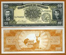 Philippines, 20 Pesos (ND) 1949, Pick 137d, UNC