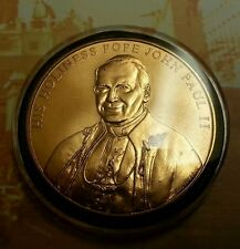 POPE JOHN PAUL II COMMEMORATIVE COIN LIMITED EDITION 2000 THE MORGAN MINT