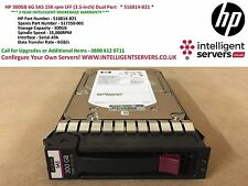 HP 300GB 6G SAS 15K rpm LFF (3.5-inch) Dual Port   * 516814-B21 *