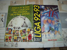 """ESTE 92-93 """"PORTADAS ALBUM"""" FUTBOL"""