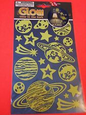 Glow in the Dark Stickers - Outer Space - Fantasy - Must See