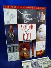 Doll Making Book Anatomy of Doll Susanna Oroyan Fabric Sculptor's Handbook