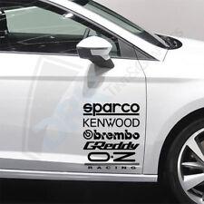 10 x adesivi da Corsa Divertente Auto Finestrino Paraurti JDM VW Vag Adesivo decalcomania in vinile 10 X