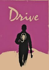 Drive Popart 28x16 Oil Painting not a print Framing Available Ryan Gosling