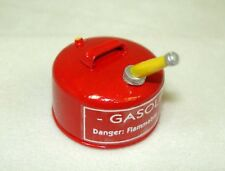 Dollhouse Miniature Sir Thomas Thumb Red Metal Gas Can Miniatures for Doll House