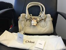 NWT - Chloe Paddington Satchel Bag - Pebble soft Leather ...Medium