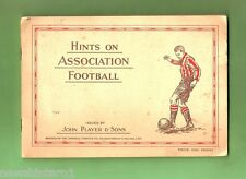#D125. 1934 SOCCER CARD SET IN ALBUM - HINTS ON ASSOCIATION FOOTBALL