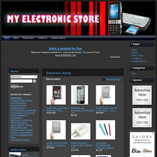 ELECTRONIC STORE - Turnkey Affiliate Website + Dropship + FREE Domain & Hosting!