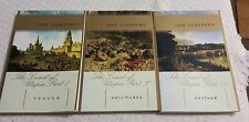 THE COAST OF UTOPIA~VOYAGE, SHIWRECK, SALVAGE 3 BOOKS BY TOM STOPPARD VERY GOOD