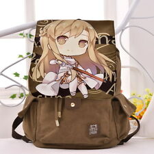 Sword Art Online SAO Yūki Asuna Anime Canvas Travel Leisure Bags Backpack Gift