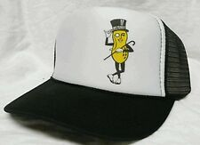 Mr. Peanut Trucker Hat Mesh Hat Snap Back Hat black