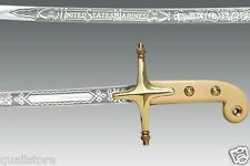 "Cold Steel USMC Officer's Saber Sword 1055 Carbon 37"" Real Official Mameluke NEW"