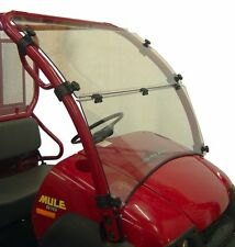 NEW KAWASAKI MULE 600 610 LEXAN FOLDING FULL WINDSHIELD 2005 AND UP
