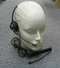 LCAP-108 Monaural Headset for VISTA Amplifier M10 M12 M22 MX10 GN Netcon MPA-II