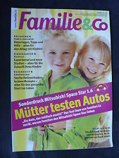 Mitsubishi Space Star 1.6 - Test - Sonderdruck Familie&co 1999?
