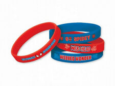 MARVEL ULTIMATE SPIDERMAN RUBBER BRACELETS 4 COUNT SEALED! NEW! FREE SHIP!