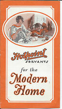 Vintage 1930s Hotpoint Servants for the Modern Home Products Brochure G50