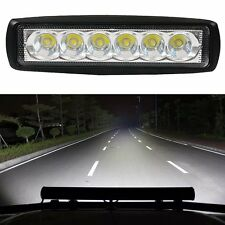 18W Flood LED Light Work Bar Lamp Driving Fog Offroad SUV 4WD Car Boat Truck 02