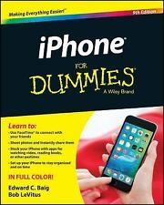 iPhone for Dummies by Edward C. Baig and Bob LeVitus (2015, Paperback)