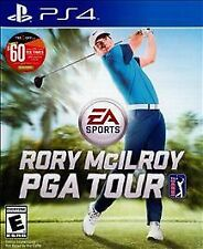 PS4 EA Sports Rory McIlroy PGA Tour Golf NEW Sealed Region Free USA game