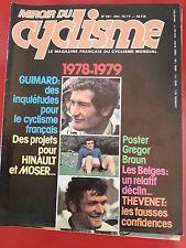 1978 miroir du cyclisme n°261 GUIMARD THEVENET HINAULT DEWOLF LA SUISSE BRAUN