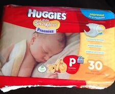 Huggies Preemie Little Snugglers Diapers - 30 Ct