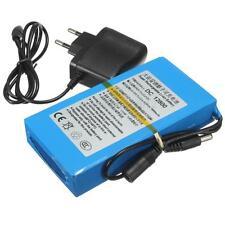 Super DC 12V 8000mAh Batterie Rechargeable Protable Lithium-ion Chargeur EU Plug