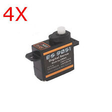 4Pcs High Quality Emax ES9051 Digital Mini Servo Motor For RC Model