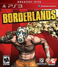 Borderlands PS3 New Sony Playstation 3 greatest hits Game