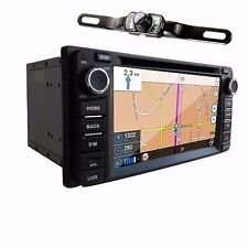6.2'' Radio In Dash Stereo iPod Car DVD Player GPS Navigationfor Toyota+Cam/Map